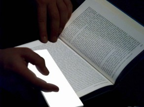 http://www.ubergizmo.com/2010/05/lightleaf-makes-for-the-perfect-bookmark/