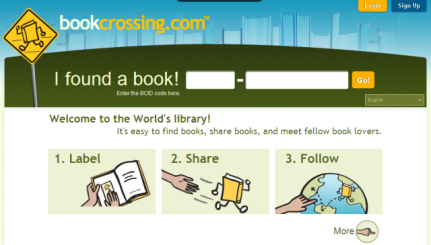 http://www.bookcrossing.com/