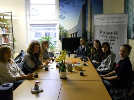 LBB Jauno speciālistu sekcijas sapulce 2011. gada 28. septembrī, foto S.Suhaņenkova