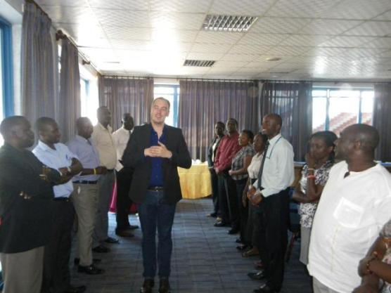 Seminārs Ugandā, foto no K.Rūkļa personīgā arhīva