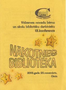 Konference Cēsīs 2013
