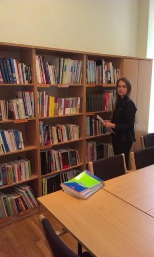 LibDay Biznesa vadības koledžas bibliotēka