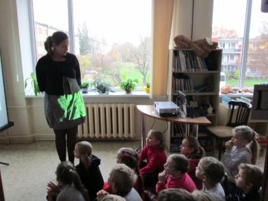 LibDay Stāstu laiks Siguldas pagasta Centra bibliotēkā