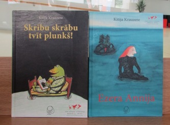 Kitijas Krauzeres latviešu valodā pieejamās grāmatas
