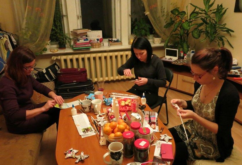 Vita, Klinta un Elīna