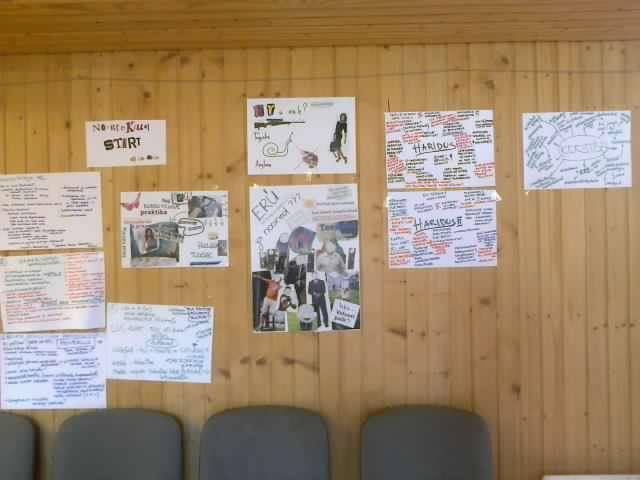 Some posters from BibliCamp
