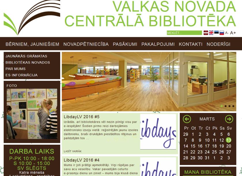 Valkas novada Centrālā bibliotēka