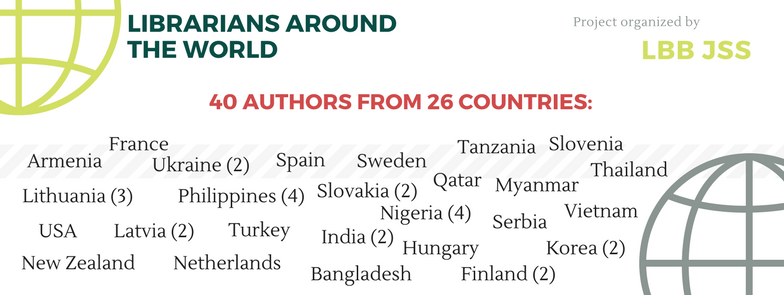 40 Participants from 26 countries!