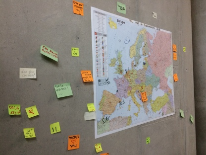 BOBCATSSS 2018 dalībnieku karte. Foto: E.Sniedze